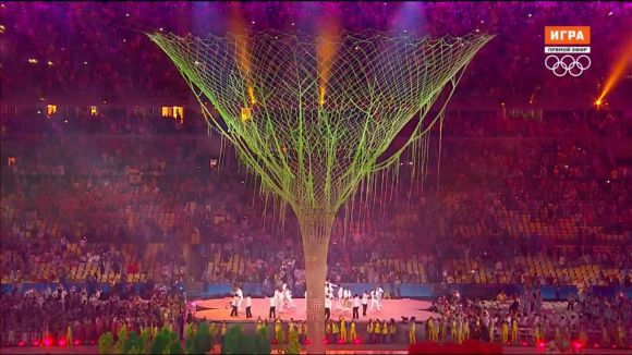 Церемония закрытия Олимпиады в Рио 2016 (Эволюционная воронка)