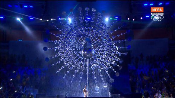 Церемония закрытия Олимпиады в Рио 2016 (Вода тушит Огонь)