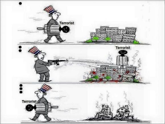 Как «международный терроризм» помогает США решать геополитические задачи (картинка)