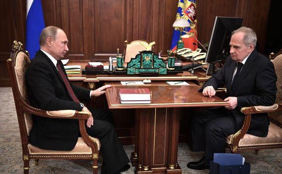 Встреча с Председателем Конституционного Суда Валерием Зорькиным