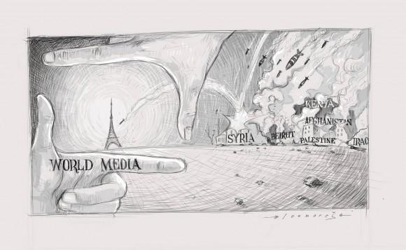 Мировые СМИ и теракт в Париже