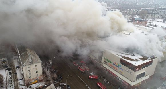 Пожар в ТРК Зимняя Вишня