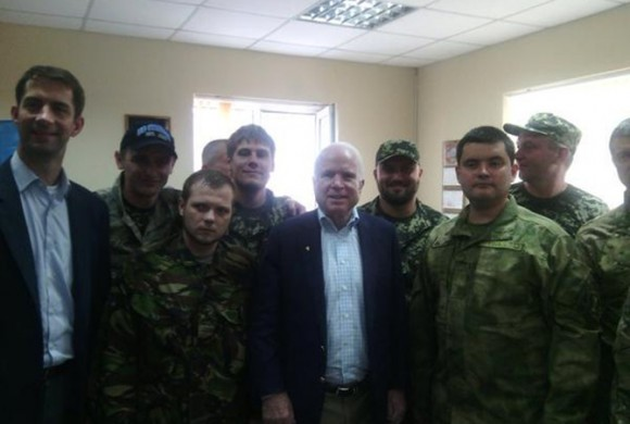 Welcome to Dnipropetrovsk Senator John McCain