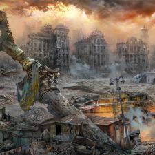 Майдан Незалежности после еврооккупации