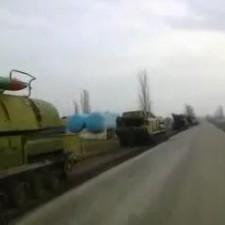 Боевая техника Украины в Соледаре (март 2014г.)