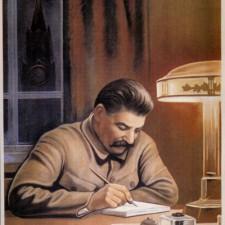 О каждом из нас заботится Сталин в Кремле