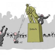 Обезьяны валят Дарвина