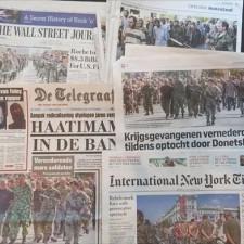Широкое освещение в западных СМИ парада пленных в Донецке