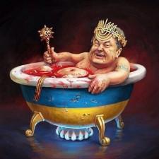 Кровавый трон Порошенко