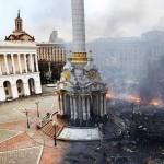 «Майдан Незалежности» до и вовремя «Евромайдана»