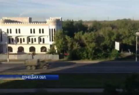Подробности.ua - Украинские военные зафиксировали большую колонну техники со стороны России, август 2014г., Донецкая область