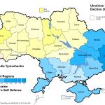 Распределение голосов на парламентских выборах на Украине в 2006г.