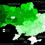Явка на выборы президента украинско-американской оккупационной власти на Украине в 2014г.
